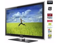 """(Excellent Condition) Samsung UE40C5100 40"""" SUPER SLIM Full HD LED TV + Freeview + 4x HDMI + Remote"""