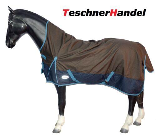 Highneck Weidedecke 1200D mit Fleece Regendecke Outdoordecke Pferdedecke E.C.