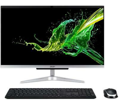 """ACER C24-960 23.8"""" All-in-One PC - Silver - DAMAGED BOX - Currys"""