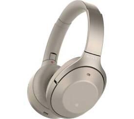 Sony wh-1000xm2 noise cancelling headphones