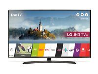 "43"" LG SMART 4K LED TV ULTRA HD TOP OF RANGE TV 4 MONTH OLD GREAT CONDITION CAN DELIVER"