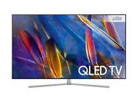 "SAMSUNG QE55Q7FAM 55"" Smart 4K Ultra HD HDR QLED FREESAT & FREEVIEW HD TV"