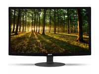 "New ACER S240HLBID Full HD 24"" LED Monitor Was: £129.99"