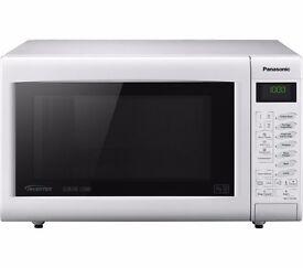 New Boxed PANASONIC NN-CT555WBPQ Combination Microwave White Was: £199.99