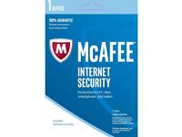 Genuine McAfee Internet Security Software
