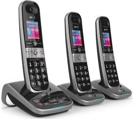 BT8610 trio of phones with nuisance call blocker and answerphone