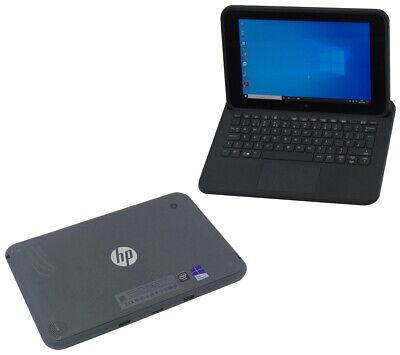 HP Pro Tablet Laptop 10 EE G1 Touchscreen Windows 10 Webcam Quad Core Warranty