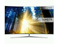 49in Curved Samsung SUHD QUANTUM DOT 4K SMART HDR TV