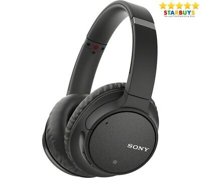 Sony WH-CH700N Noise Cancelling Wireless Bluetooth Hands Free Headphones - Black