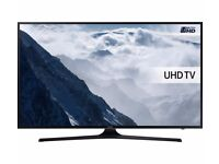 50'' Samsung Smart 4K ultra HDR LED TV. 2017 MODEL UE50MU6100. FREEVIEW HD. FREE DELIVERY/SETUP