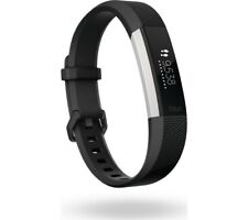 FITBIT Alta HR Black, Small Splashproof Up to 5 days battery life