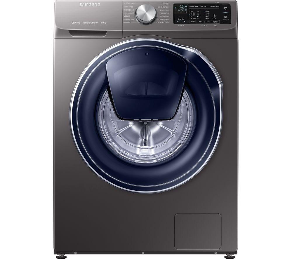 Washing Machine SAMSUNG QuickDrive WW80M645OPX Smart 8 kg 1400 Spin RRP £869