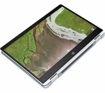 GradeB - HP x360 14-da0502na 14in 2-in-1 White Chromebook - Intel Pent Gold 4415