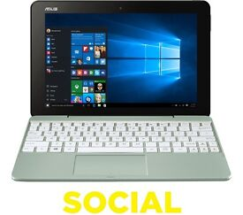 "ASUS Transformer Book T101HA 10.1"" 2 in 1 - Mint"
