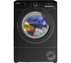 9KG HOOVER Dynamic Next DX C9DGB NFC 9 kg Condenser Tumble Dryer - Black
