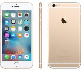 iphone 6 plus 16gb unlock any sim ,gold or grey/black 6 months warranty,£319