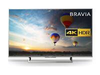 "SONY BRAVIA KD49XD8305BU Smart 4K Ultra HD HDR 49"" LED TV"