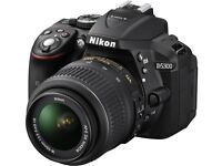 NIKON D5300 DSLR Camera with 18-55 mm f/3.5-5.6 Zoom Lens BRAND NEW