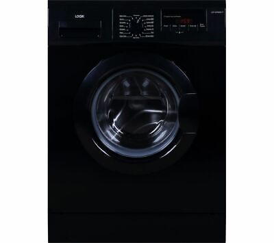 LOGIK L814WMB17 8 kg 1400 Spin Washing Machine - Black - Currys
