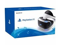 Playstation 4 VR Virtual Reality Headset Brand new in box