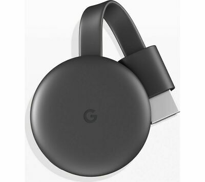 Google Chrome Cast 3rd Generation - Charcoal (Brand New)
