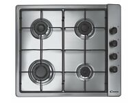 candy gas hob - stainless steel , new in box , for sale ,,,