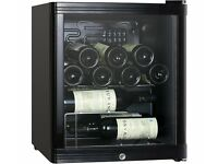 BRAND NEW - WINE COOLER by ESSENTIALS CWC15B14 - 15 BOTTLES - STILL BOXED - COST £119.99 ACCEPT £55