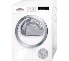 BOSCHSerie 4 WTN85280GB Condenser Tumble Dryer - White