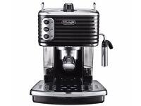 DELONGHI SCULTURA ECZ351.BK 15 Bar Pump Espresso / Coffee Machine in Black