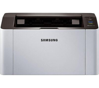 SAMSUNG Xpress M2026 Monochrome Laser Printer USB 2.0 ReCP Technology White
