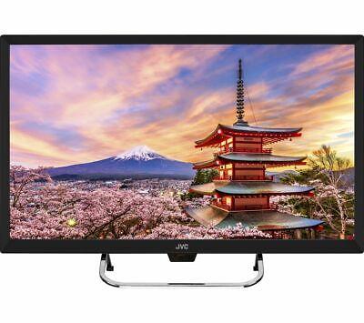 """JVC LT-32C490 32"""" LED LCD TV HD READY DVB-T2 FREEVIEW HD TUNER HDMI USB *R92*"""