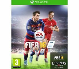 FIFA 16 Xbox One Game