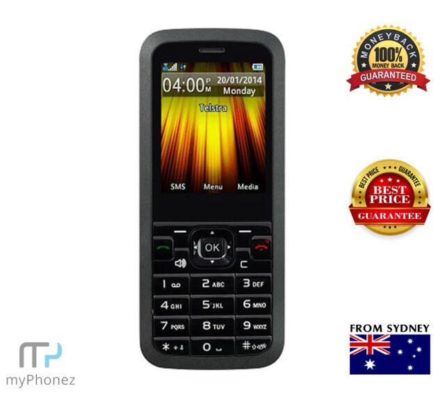 Telstra Cruise 3G HS850 T126 Black, Camera, Slim Cheap Phone UNLOCKED