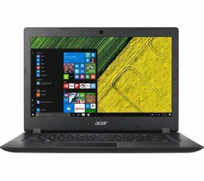 GradeB - ACER Aspire 1 A114-31 14in Laptop - Black - Intel N3350 4GB RAM 64GB eM