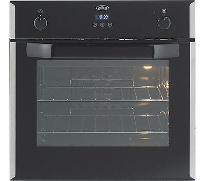 Belling Bi60EFR 60cm Built-in Single Multi-Function Electric Fan Assisted Oven.