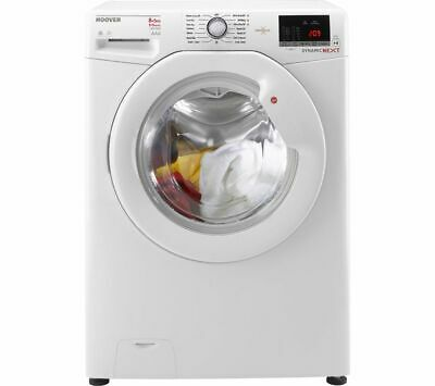 HOOVER WDXOC 485A 8 kg Washer Dryer - White - Currys