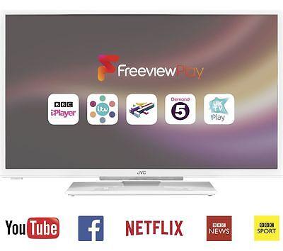 "JVC LT-32C671 32"" HD Ready LED Smart TV Freeview HD White"