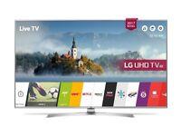 "LG 55UJ701V 55"" Smart 4K Ultra HD HDR LED TV - Brand New"