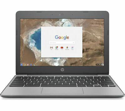 HP 11-v051na 11.6in Grey Chromebook - Intel Celeron© N3060 4GB RAM 16GB eMMC - C
