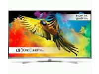 "LG 55"" 4k TV with 5 year warranty"