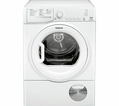 HOTPOINT Aquarius TCFS 93B GP 9 kg Condenser Tumble Dryer - White - Currys