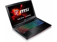 MSI GE62 6QF Apache Pro Gaming laptop