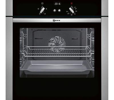 NEFF B44S32N5GB Slide&Hide Electric Oven Stainless Steel - Built in