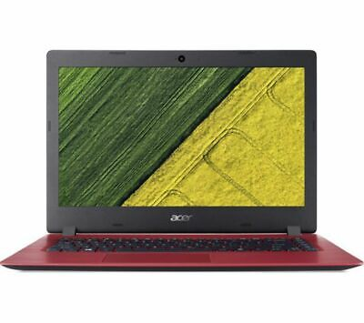 GradeB - ACER Aspire 1 A114-31 14in Red Laptop Intel Celeron N3350 4GB RAM 64GB