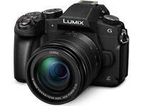 Panasonic DMC G80 /G85 mirrorless camera (Micro four thirds) like new