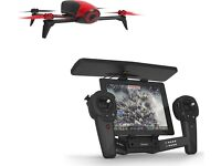 Parrot BeBop 2 1080p 14MP Camera Drone Plus Skycontroller- Black and Red