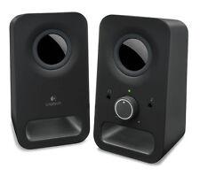 LOGITECH Z150 Multimedia 2.0 PC Speakers Black