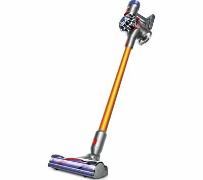 Dyson V8 Absolute Cordless Bagless Vacuum Cleaner 21.6V 0.54 L Nickel & Iron New