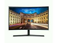 "SAMSUNG - C24F396 Full HD 24"" Curved LED Monitor"