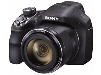 SONY H400 Cyber-Shot Bridge Camera, 20.1MP, 63x Zoom RRP £299.99 + Free Official Sony Camera Bag